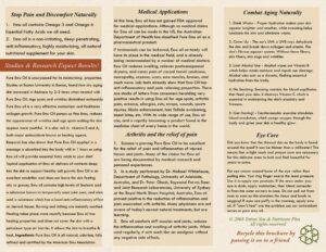 Nutricare Plus Emu Oil brochure Page 2
